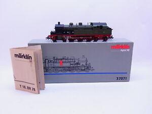 81578-Marklin-H0-37071-Locomotive-Tender-T18-Wurtemberg-Digital-Pret-a-Demarrer-039