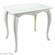 White Queen Ann Dining Table 1:6 for Barbie Monster High Doll's House Furniture