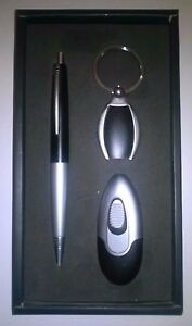 Lubinski Pen Keyring And Lighter Gift Set rssLaWMO-09105235-724586766