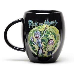 Rick-e-Morty-portale-Crest-ovale-Tazza-Tazza-in-ceramica-15OZ-MGO0011-Regalo-Inscatolato