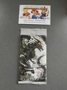 Final Fantasy TCG: Opus (VIII) 8 Booster Pack - New & Sealed - 12 Card Pack..