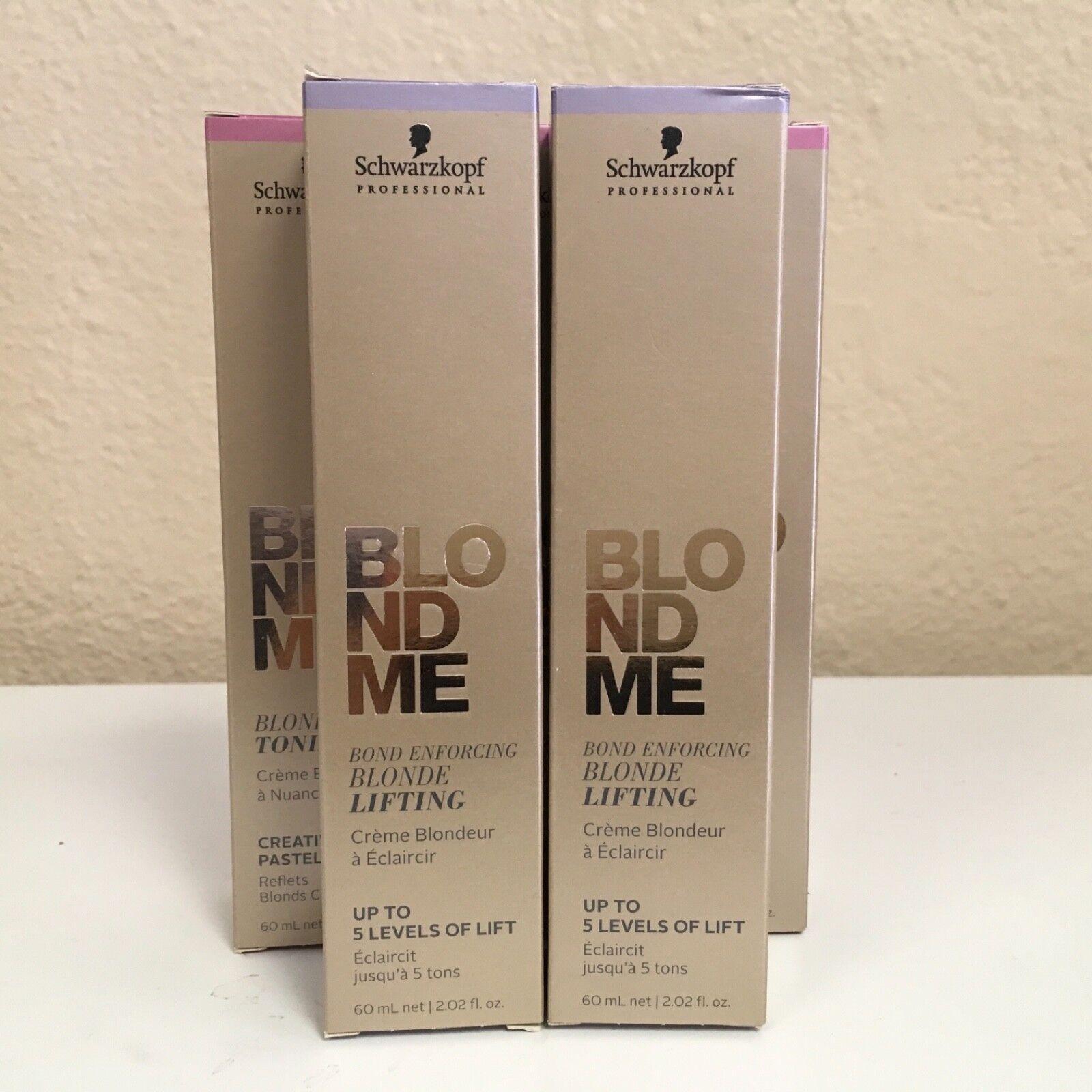 Schwarzkopf Blondme Blonde Lifting Hair Color Cream 60ml NIB ~YOU CHOOSE!~
