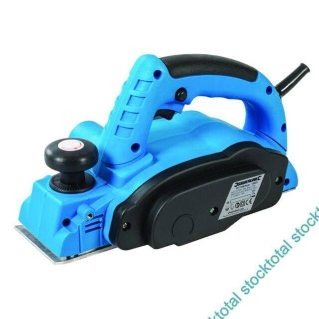 Cepillo eléctrico 82 mm, 710 W Cepillo eléctrico con cuchillas de TCT 128891 PG