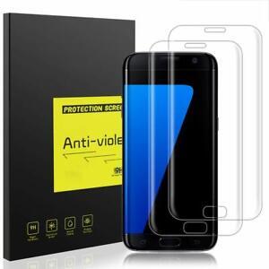 2 Protector De Pantalla Cristal Vidrio Templado Para Samsung Galaxy S7 Edge 5059116202742 Ebay