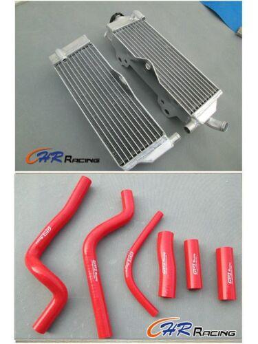Aluminum Radiator and hose for HONDA CR500 CR500R 1991-2001 1992 1993 1994