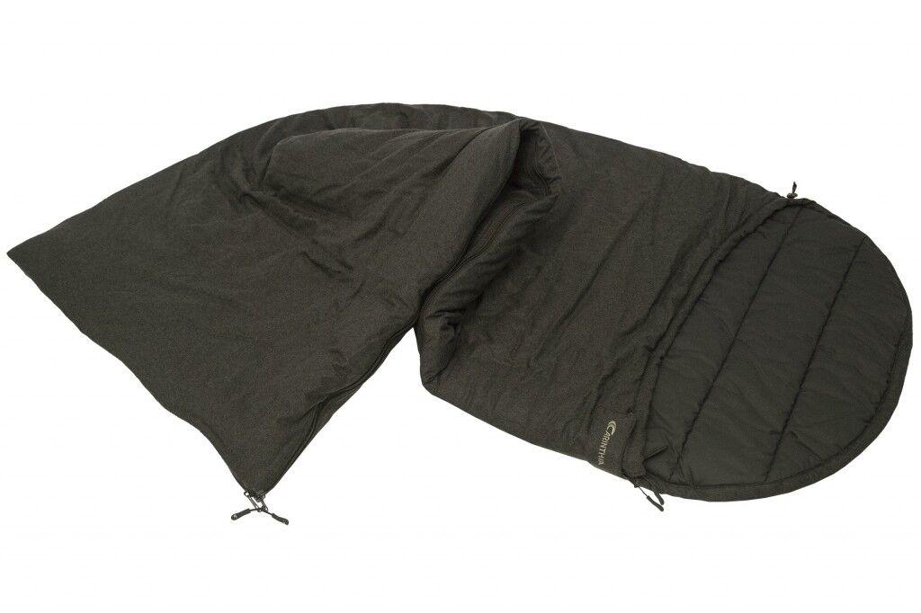 Carinthia Loden Lightweight Sleeping Bag Olive Left Hunting Rectangular