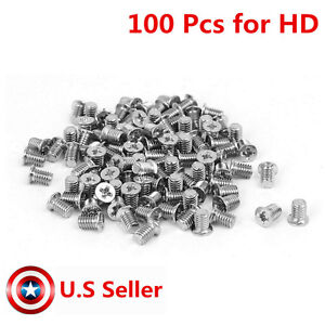 """M3x4mm Flat Head Mounting Screws Replacement For Laptop 2.5/"""" Hard Drive HDD"""