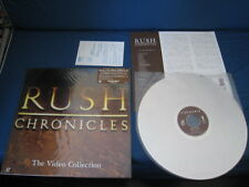 Rush Chronicles Video Collection Japan Laserdisc w Outer Info Sticker LD Laser