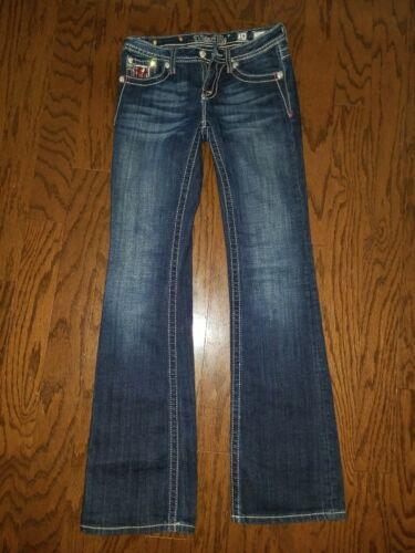 Girls Cut Wash Jk6095b4 Pocket Flap Boot Jeans 14 Angelo Blu Miss Bling ala Me 5wxRqnCa