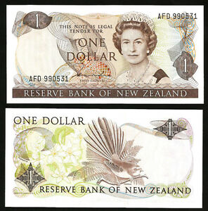 NEW-ZEALAND-1-DOLLAR-1981-1985-UNC-P-169a-SIGN-HARDIE