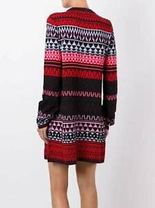 McQ-Alexander-Mcqueen-NEW-Fair-Isle-Wool-Knit-Tunic-Long-Sleeves-Dress-S
