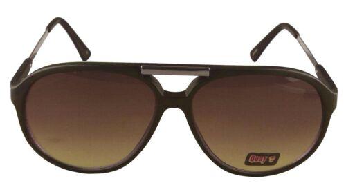 NEW Quay Eyeware Australia 1489 Matte Black Chocolate Brown 100/% UV Sunglasses