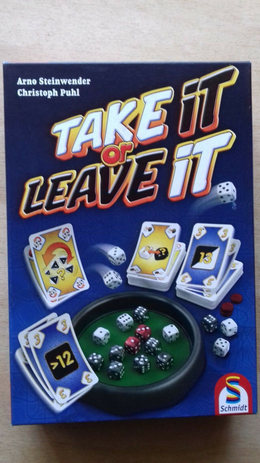 Neues Spiel Take it or Leave it
