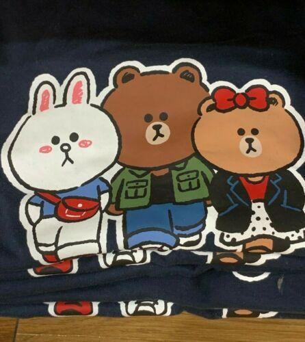 Fashion Uniqlo LINE FRIENDS Brown Cony UT Couple T-shirt 2020 Men Women Mascot