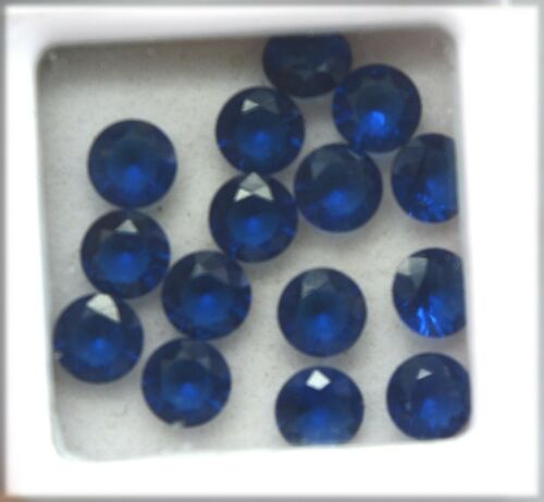 Details about  /Certified Natural Blue Sapphire Calibrated 5x5 mm Lot upto 20 pcs Gemstone