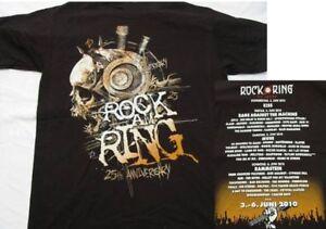 Rock-am-Ring-2010-Bionic-Skull-T-Shirt-Size-M-Neu