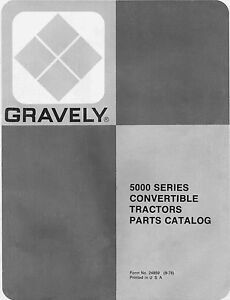 gravely 7.6 convertible service manual