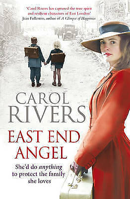 1 of 1 - East End Angel,Rivers, Carol,Excellent Book mon0000086988