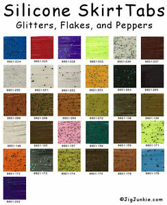 SILICONE-SKIRT-TABS-MATERIAL-156-COLORS-AND-PATTERNS-BEST-OF-THE-BEST