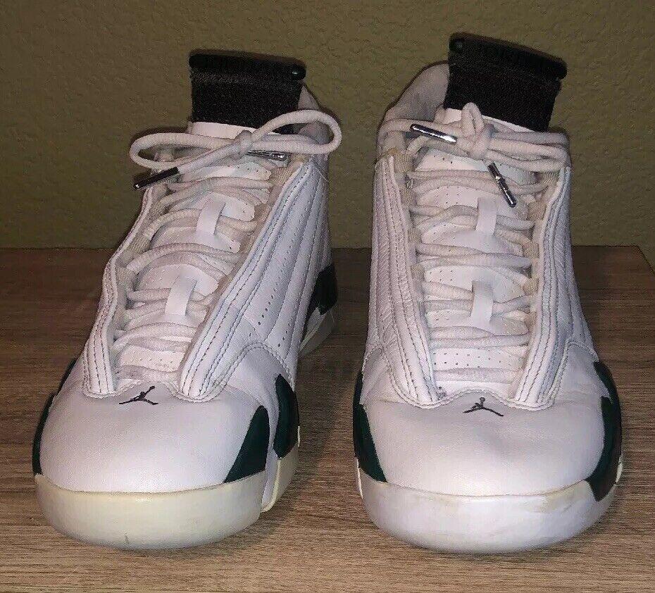 2005 Jordan Retro XIV 14 Vert Forêt Noir Blanc 311832-131 SZ 11.0