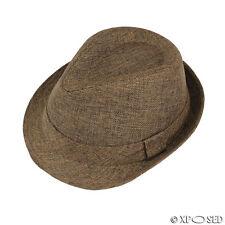 5b68cde2ced item 4 Unisex Mens Womens Vintage Trilby Fedora Straw Sun Hat Summer Cap  Size S M L XL -Unisex Mens Womens Vintage Trilby Fedora Straw Sun Hat  Summer Cap ...