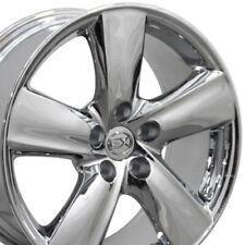 18 Rims Fit Lexus Toyota Chrome Wheels 74196 Ls460 Style Set Fits 2011 Toyota Camry