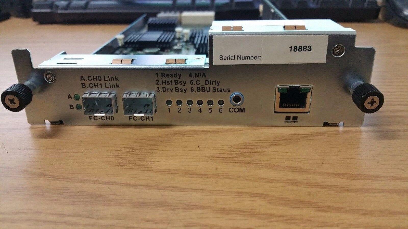 Infortrend 82AF24GD08-0010 Storage controller RAID Card w/ 1GB RAM
