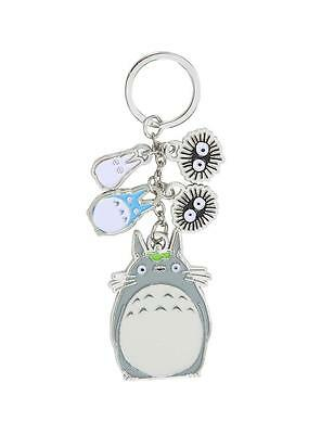 My Neighbor TOTORO Licensed Deluxe 5 Charm KEY CHAIN Oh Chuu Chibi Soot Sprites