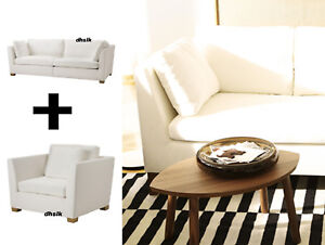 IKEA-Stockholm-3-5-Sofa-Cover-AND-1-5-Armchair-Slipcover-GAMMELBO-0r-ROSTANGA