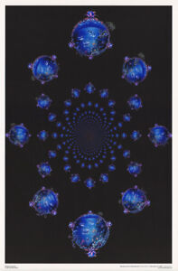 FREE SHIPPING #3516  LW9 C PSYCHEDELIC POSTER VOYAGER