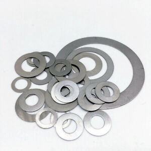 0-5mm-Shim-Washers-DIN-988-High-Quality-Steel-Multiple-Sizes-Available