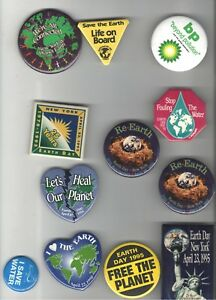 12-old-PROGRESSIVE-Cause-pins-EARTH-DAY-Save-the-Environment-etc