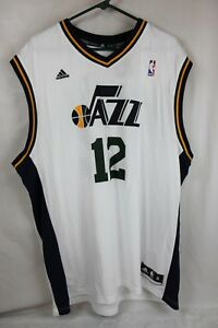 new concept 78cc8 39094 Details about Adidas NBA Jersey Utah Jazz John Stockton White XL