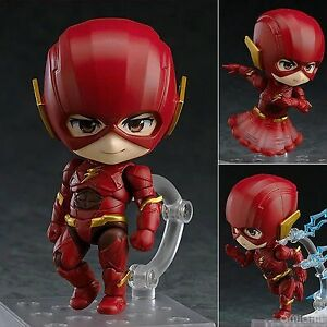 Anime-Nendoroid-der-Flash-917-Flash-Justice-League-Edition-Actionfigur-Spielzeug-NB
