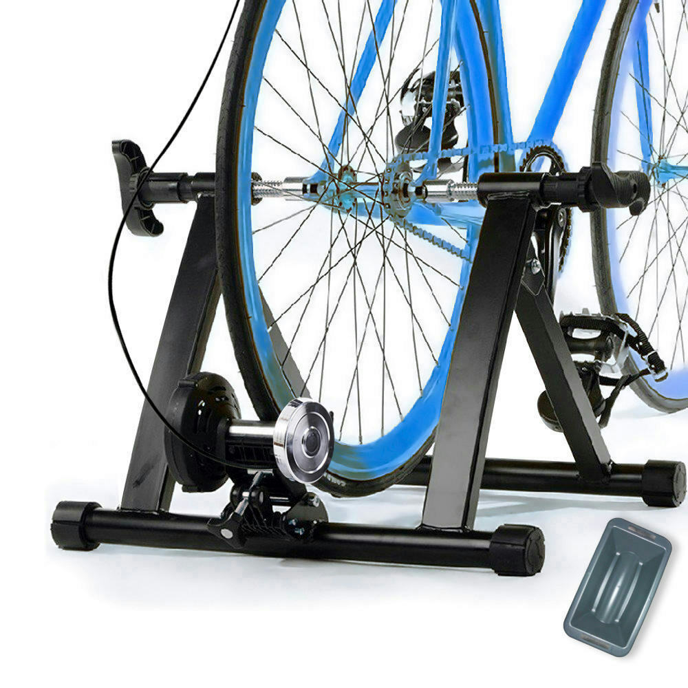 Newest 8 Levels Resistance Magnetic  Bicycle Indoor Exercise Bike Trainer Stand  zero profit