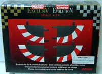 Carrera 20598 Outside End Border To Finish Curve 1/32 & 1/24 Slot Car Track