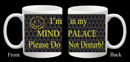 Personnalisé Sherlock Moriarty esprit Palace Mug Anniversaire BBC Cadeau Cumberbatch
