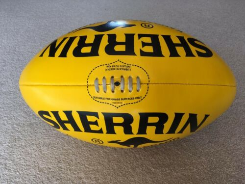 Extra Large Sherrin AFL Football 50cm Novelty Autograph Ball