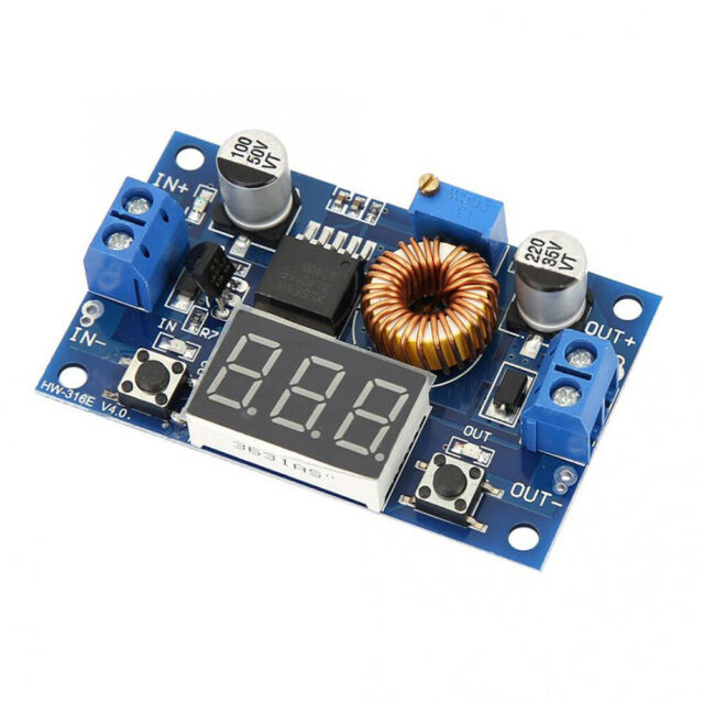 5A 75W DC-DC With Voltage Display Convert Power Module XL4015E Step-down t