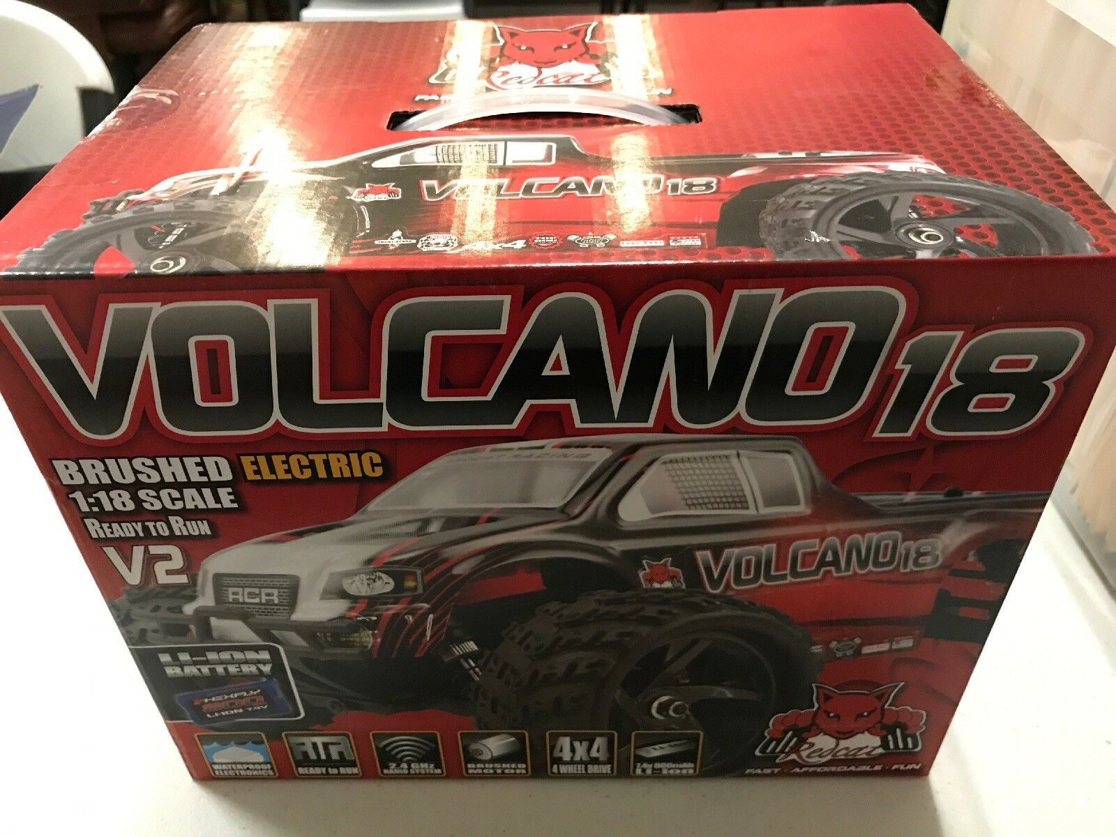 rossocat Volcano 18 Brushed Electric 1 18 Scale V2
