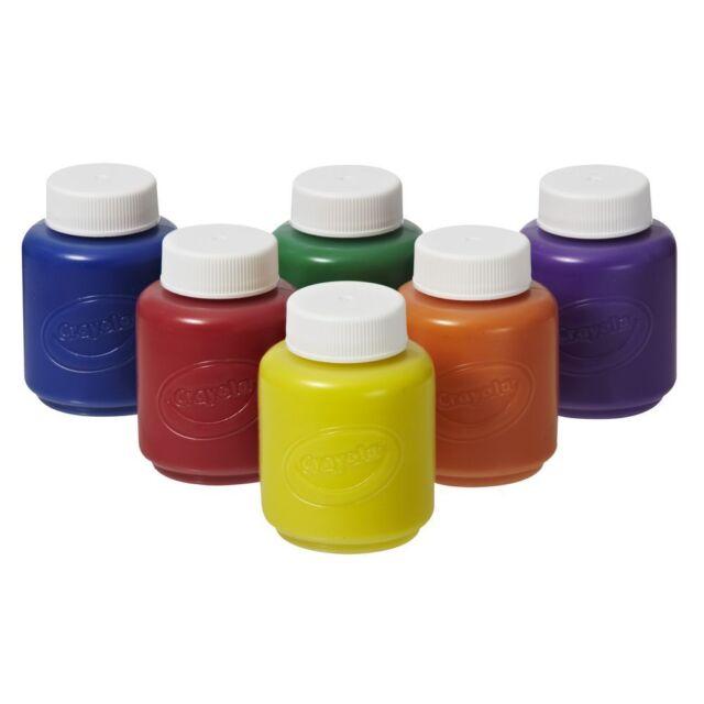 Crayola 6 Kids Washable Paints