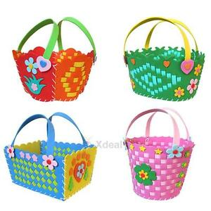 DIY-3D-Eva-Foam-Flower-Basket-Early-Learning-Education-Toy-for-Children-Craft