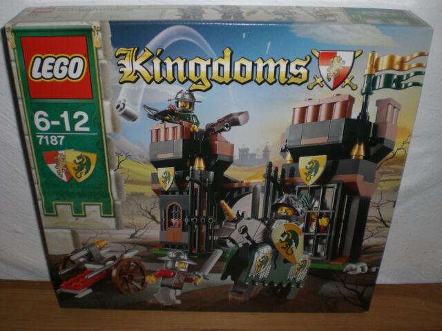 Lego kingdoms 7187-NEUF & NON OUVERT-fuir Dragon prison Ritterburg