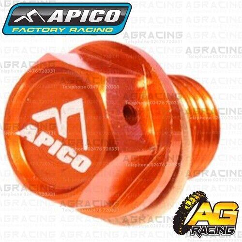 Apico Orange Magnetic Sump Drain Bolt M12x12mmx1.5 For Husqvarna TE 300 2018
