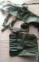 British Army New Sling SA80 Small Arms & Cleaning Kit Roll Pouch & Bandolier