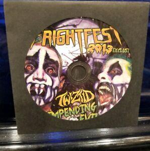 Twiztid - Impending Evil Fright Fest 2013 CD Single insane clown posse boondox