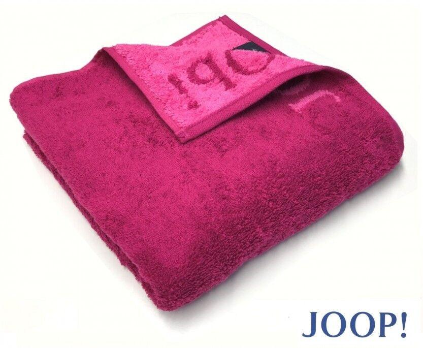 B_ JOOP  1600 CLASSIC DOUBLEFACE FROTTIER HANDTUCH DUSCHTUCH SAUNATUCH 22 CASSIS | Ausgezeichnet