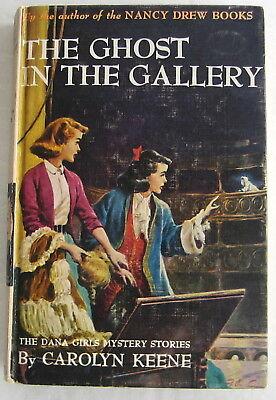 Dana Girls #17 Ghost in the Gallery Nancy Drew Author Carolyn Keene Beige PC