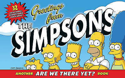 """""""AS NEW"""" Groening, Matt, Greetings from the Simpsons (Postcard Book), Book"""
