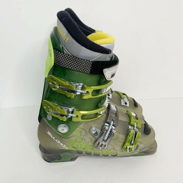 Salomon MY Custom Fit comfort Slick fit Ski Boots Mondo 25 Women's 8 Mens 7